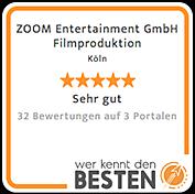 Kundenbewertung ZOOM-Entertainment GmbH Wer kennt den Besten